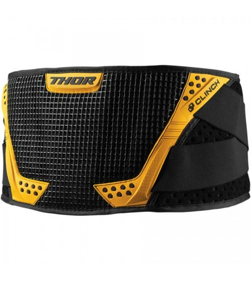 Thor Junior Clinch Belt Black/Yellow