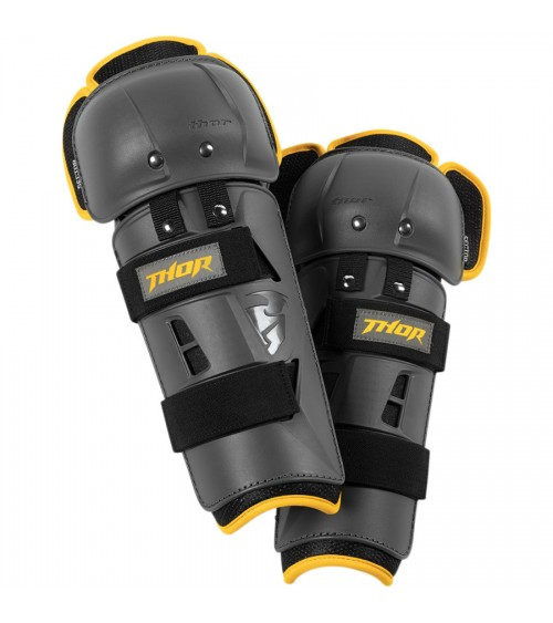 Thor Junior Sector GP Knee Guard Black/Yellow