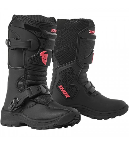 Thor Mini Blitz XP Black/Pink Boot