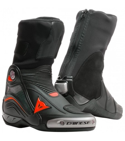 Dainese Axial D1 Black/Red-Fluo Boot