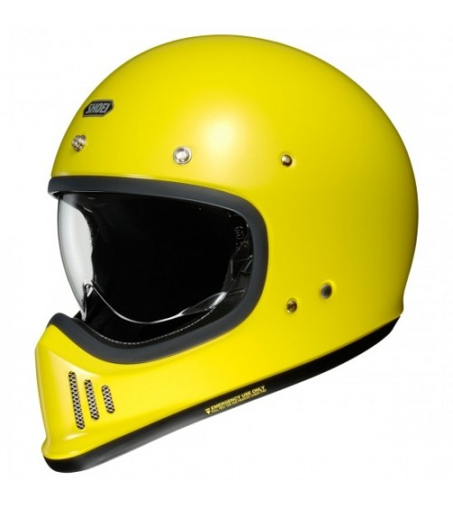 Shoei EX-Zero Brilliant Yellow