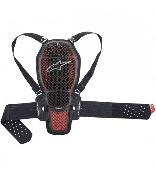 Alpinestars Nucleon KR-1 Cell Back Protector Transparent Smoke/Red/Black