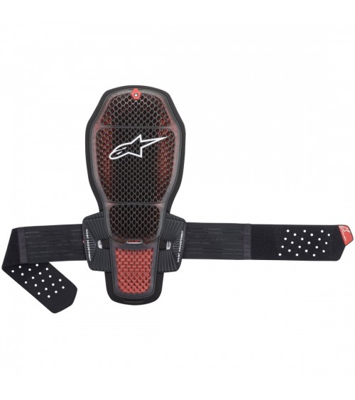 Alpinestars Nucleon KR-R Cell Back Protector Transparent Smoke/Red/Black