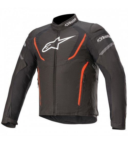 Alpinestars T-Jaws V3 Waterproof Black/Red Fluo